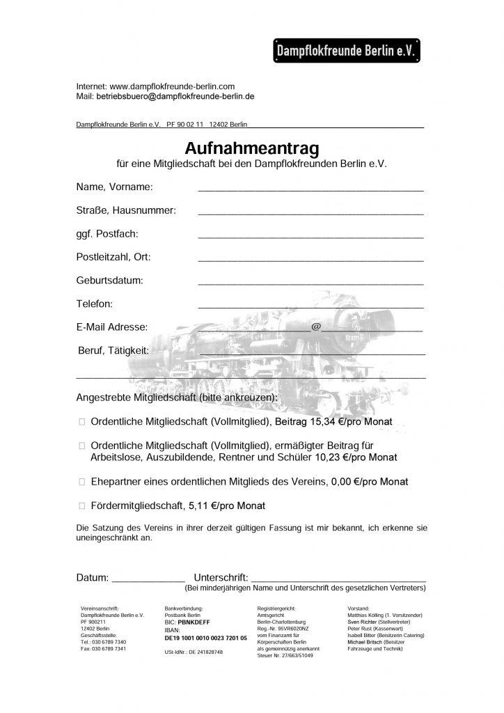 Aufnahmeantrag Dampflokfreunde Berlin e.V._Seite_1